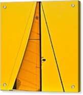 Sunset Sailing Acrylic Print