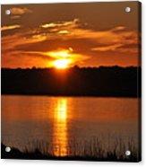 Sunset Salisbury Mass Acrylic Print