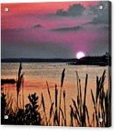 Sunset Scene Acrylic Print