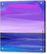 Sunset .sea Acrylic Print