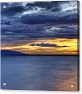 Sunset Seascape Alaska Acrylic Print