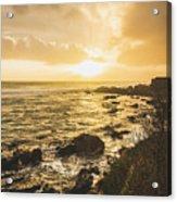 Sunset Seascape Acrylic Print