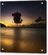 Sunset Shadows Acrylic Print