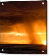 Sunset Shower Acrylic Print