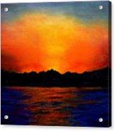 Sunset Sinai Acrylic Print