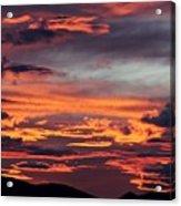 Sunset Skies 052814d Acrylic Print