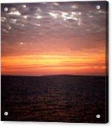 Sunset Sky Acrylic Print