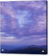 Sunset - Smoky Mountains  Acrylic Print