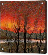 Sunset Soliloquy Acrylic Print