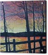 Sunset Somewhere Acrylic Print