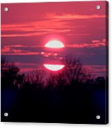 Sunset Split Acrylic Print