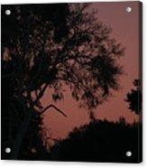 Sunset St Augustine Acrylic Print