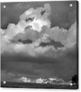 Sunset Storm  Clouds Acrylic Print