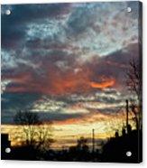 Sunset Street Acrylic Print