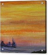 Sunset Symphony Acrylic Print