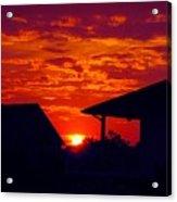 Sunset Va 4717 Acrylic Print