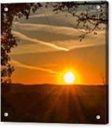 Sunset Vienna West Virginia Acrylic Print