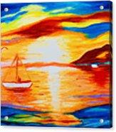 Sunset View Acrylic Print