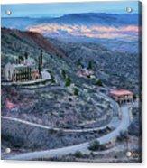 Sunset View From Jerome Arizona Acrylic Print