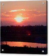 Sunset Waters Acrylic Print