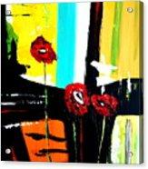 Sunshine And Poppies Acrylic Print