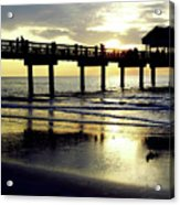 Sunshine At The Pier 60 Acrylic Print
