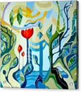 Sunshine Acrylic Print by Carola Ann-Margret Forsberg