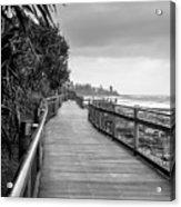 Sunshine Coast Boardwalk  Acrylic Print