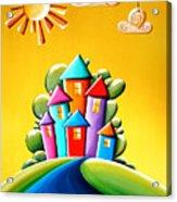 Sunshine Day Acrylic Print by Cindy Thornton