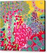 Sunshine Garden Acrylic Print