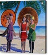 Sunshine Girls Acrylic Print