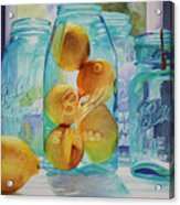 Sunshine In A Jar Acrylic Print