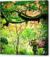 Sunshine In The Garden Acrylic Print