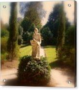 Sunshine Lady Acrylic Print