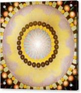 Sunshine Mandala Acrylic Print