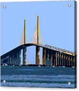 Sunshine Skyway Summer Acrylic Print