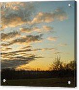 Sunup On The Farm Acrylic Print