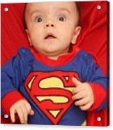 Super Baby Acrylic Print