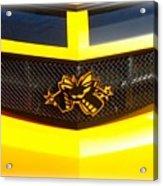 Super Bee Camaro Grill Acrylic Print
