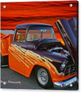 Super Cool Old Pickup Acrylic Print