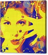 Super-girl. Acrylic Print