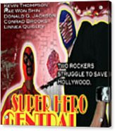 Super Hero Central Acrylic Print