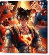 Super Heros  Acrylic Print