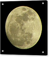 Super Moon March 19 2011 Acrylic Print by Sandi OReilly
