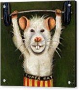 Super Rat Acrylic Print