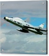 Super Sabre North American F-100  Acrylic Print