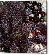 Super Small Grapes Acrylic Print