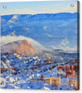 Superb View Of Sunset Point, Bryce Canyon National Park Acrylic Print