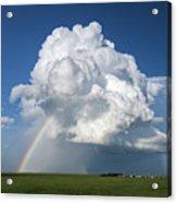 Supercell Rainbow Acrylic Print