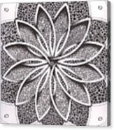 Superfactorial Flower Acrylic Print